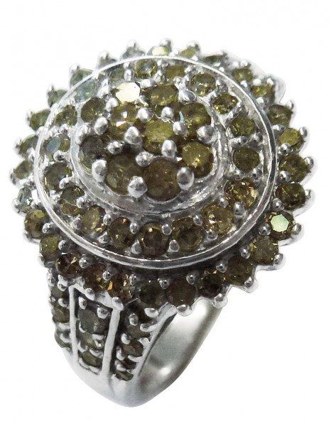 Wunderschöner Diamantring in Größe 18...