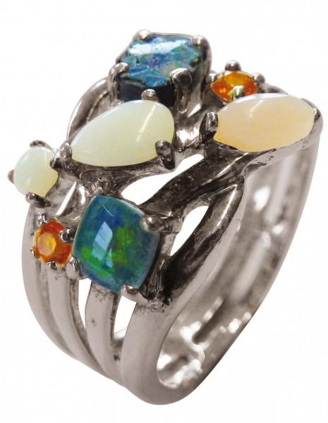 Silberring. Ring in Größe 19 mm aus ec...