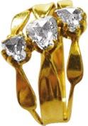 Ring aus hochwertigem Gelbgold 585/- ede...